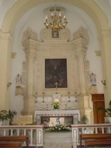 altare della Madonna Addolorata