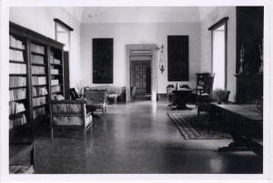 Salone di Palazzo Comi, posto al primo piano (foto di Fernando Manni)